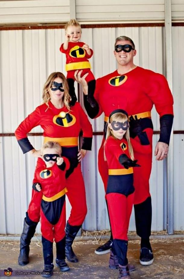 The Incredibles group halloween costume