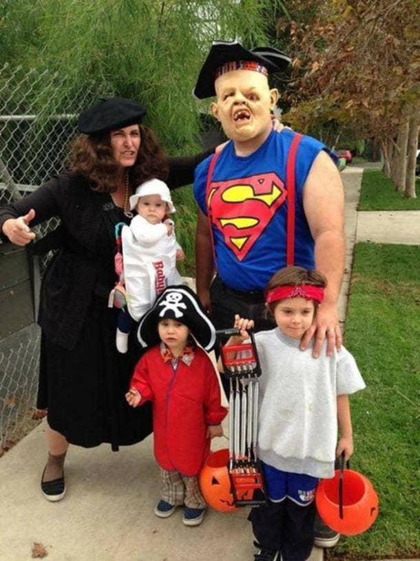 The Goonies group halloween costume