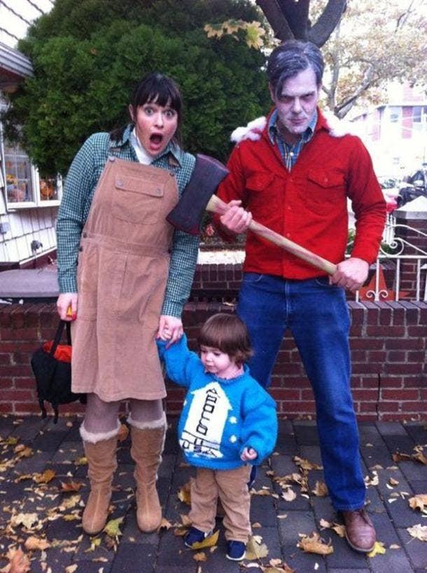 The Shining group halloween costume