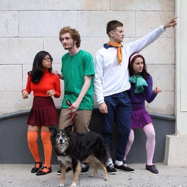 Scooby Doo group halloween costume