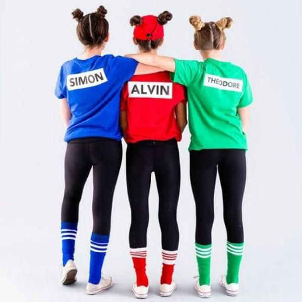 Alvin and the chipmunks group halloween costume