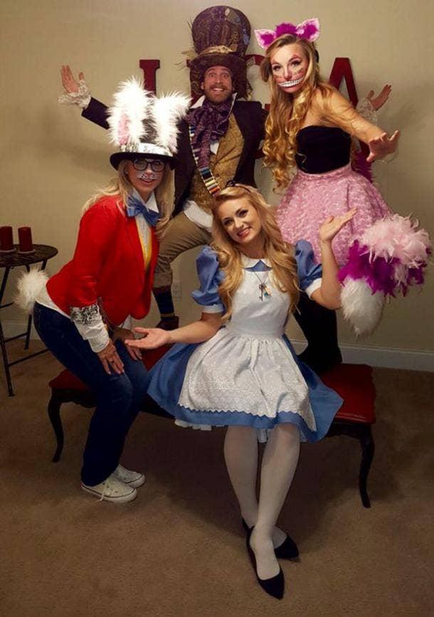 alice in wonderland group halloween costume
