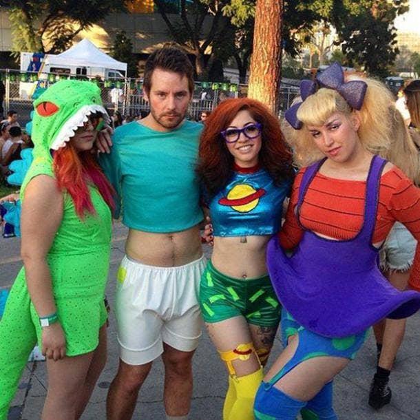 rugrats group halloween costume
