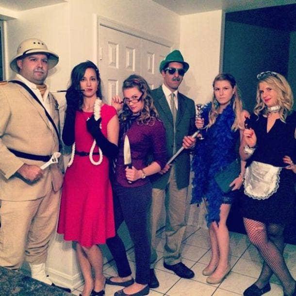clue group halloween costume