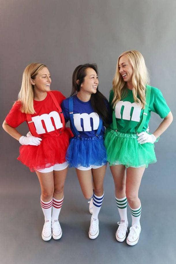 m&m group halloween costume
