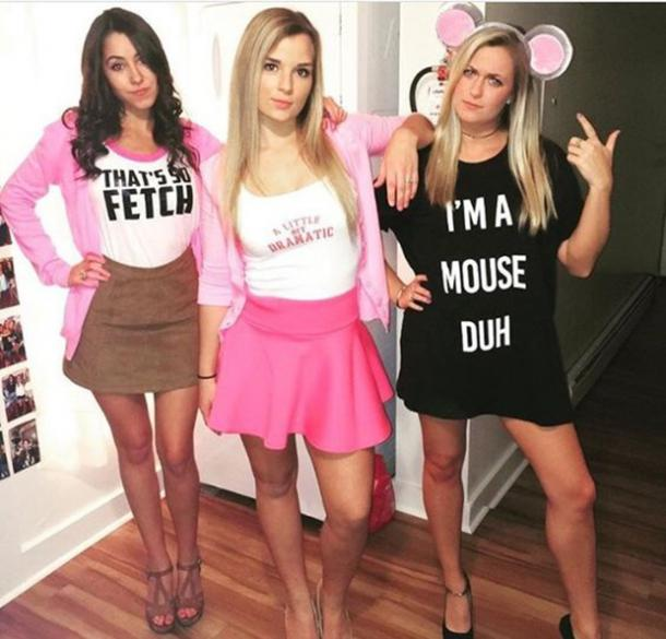 mean girls group halloween costume