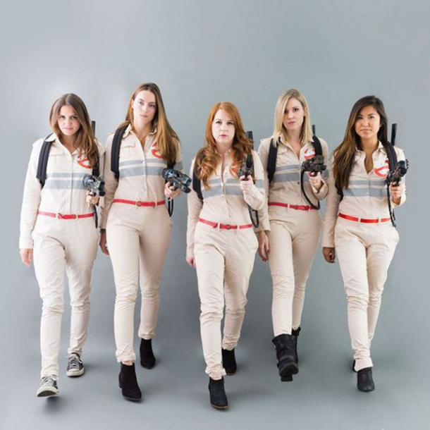 ghostbusters group halloween costume