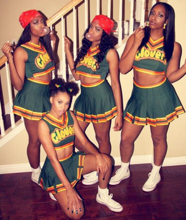 bring it on group halloween costume