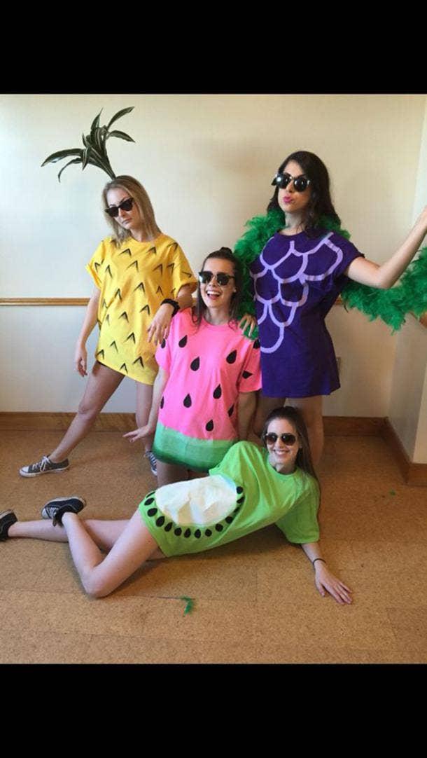 fruit group halloween costume
