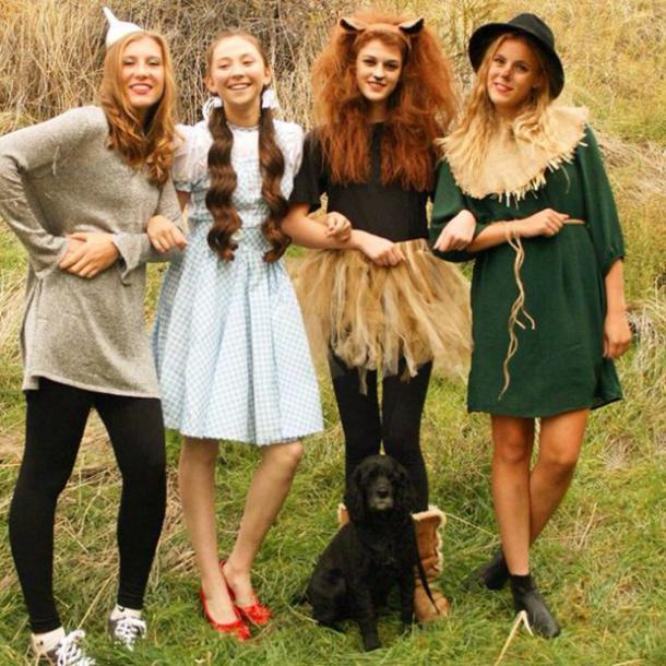 The Wizard of Oz group halloween costume