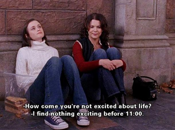 gilmore girls mother daughter quote