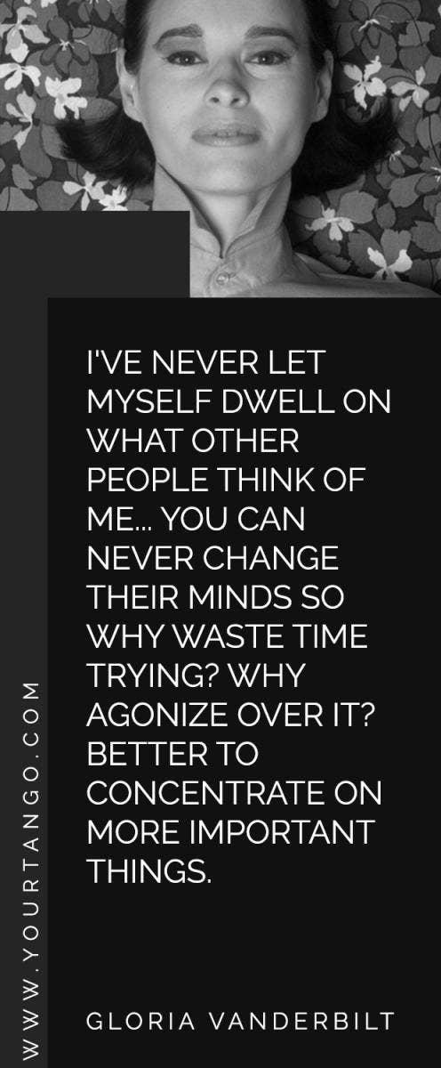Gloria Vanderbilt Quotes