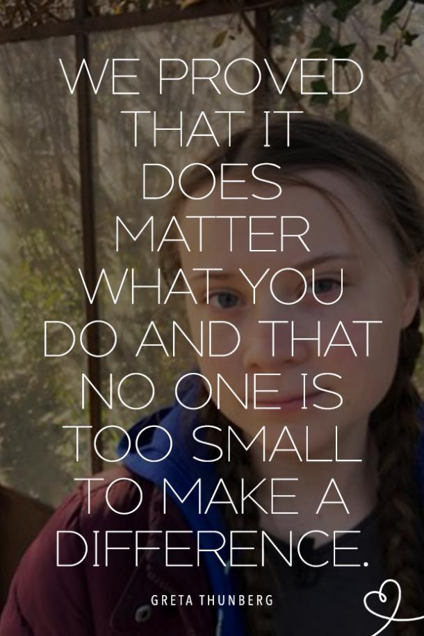 Greta Thunberg quotes about climate change strong women quotes