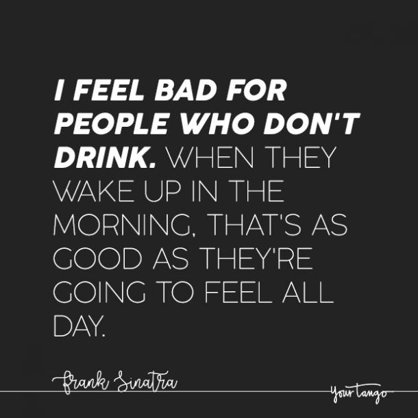 relatable hangover quotes about alcohol partying
