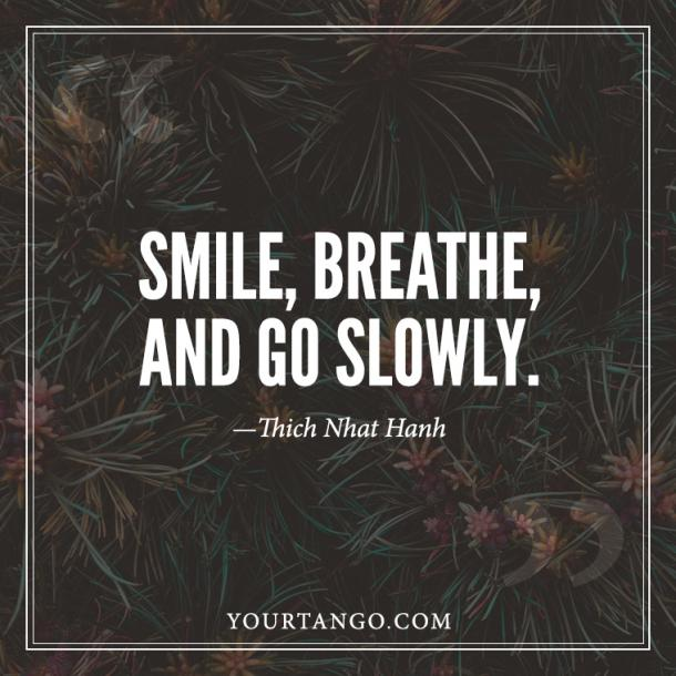Thich Nhat Hanh Anxiety Quote