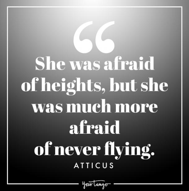 atticus quote about strength