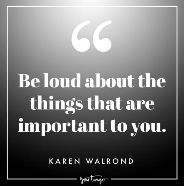 karen walrond quote about strength