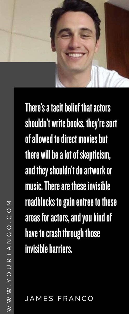 James Franco quotes