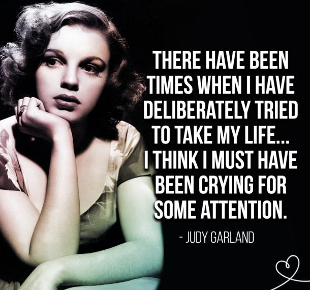 Judy Garland Quotes About Depression