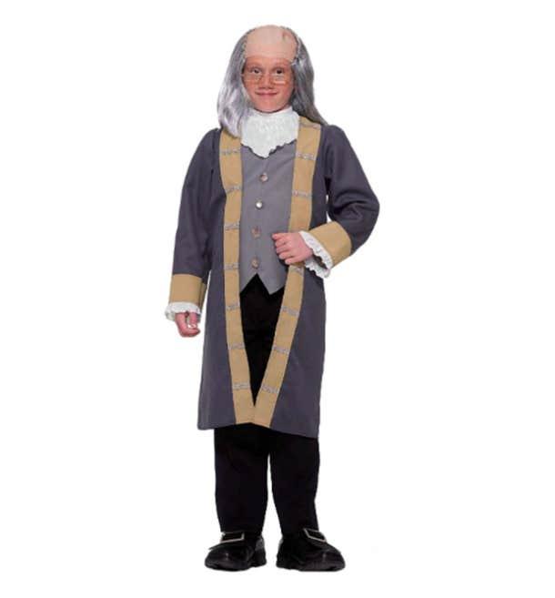 Kids Benjamin Franklin Halloween Costume
