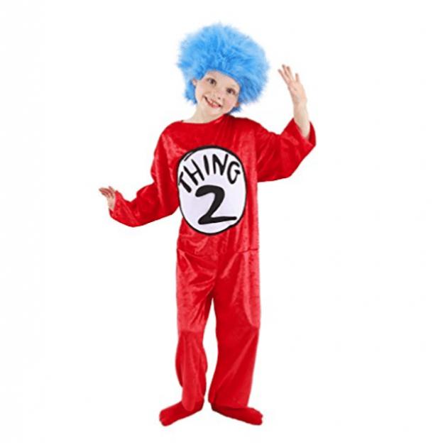 Dr. Seuss Thing 1 & 2 Costume for Kids