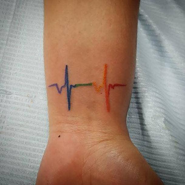 lgbtq tattoos gay tattoo lesbian tattoo queer tattoo rainbow tattoo designs