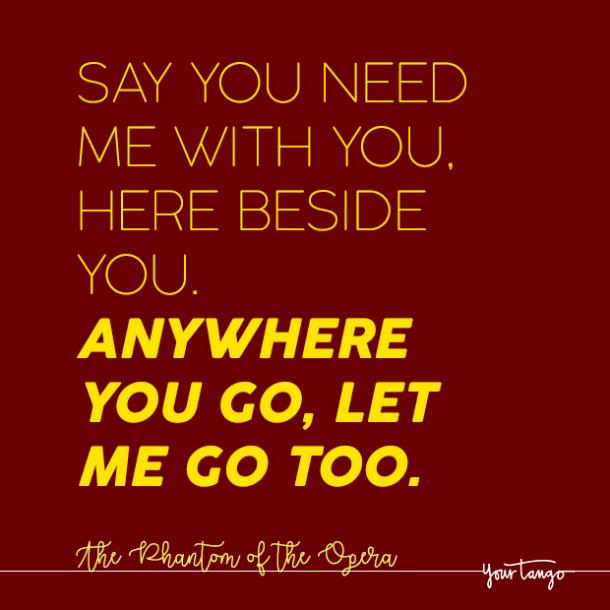 best love quotes and love songs from broadway musicals yourtango