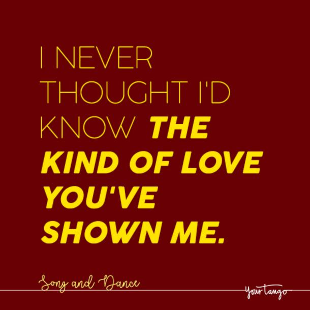 love quotes from broadway quotes