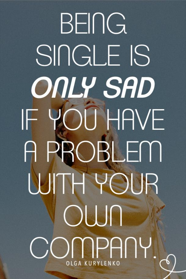 confident quotes about being single
