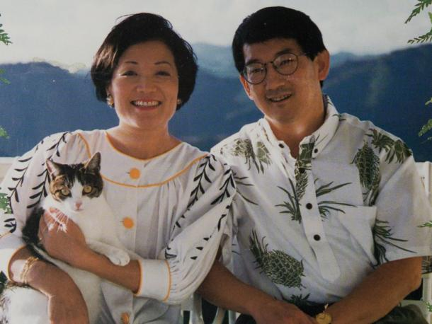Who is mazie hironos husband leighton kim oshima