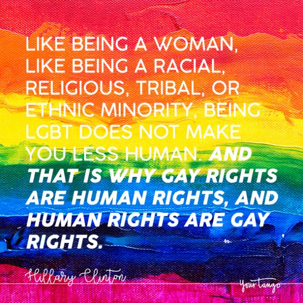 hillary clinton lgbtq quote coming out quote