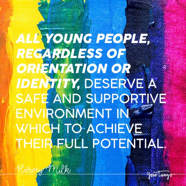 harvey milk lgbtq quote coming out quote