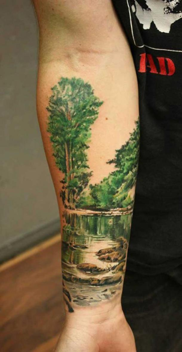 7f5fbfbb4 What Are Nature-Inspired Tattoos? 40 Best Nature Tattoo Ideas ...