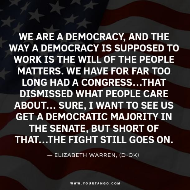 election quotes about voting and the president
