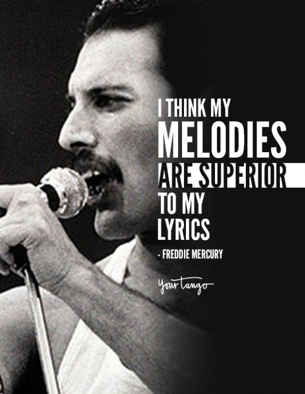 40 Best Freddie Mercury Quotes Queen Song Lyrics Of All Time