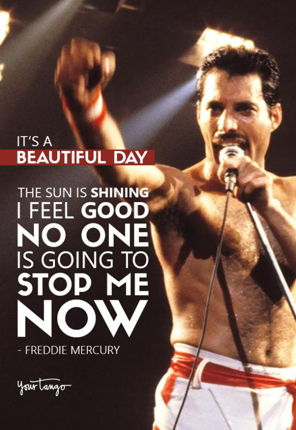 40 Best Freddie Mercury Quotes & Queen Song Lyrics Of All Time