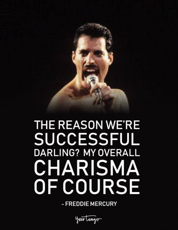 40 Best Freddie Mercury Quotes Queen Song Lyrics Of All