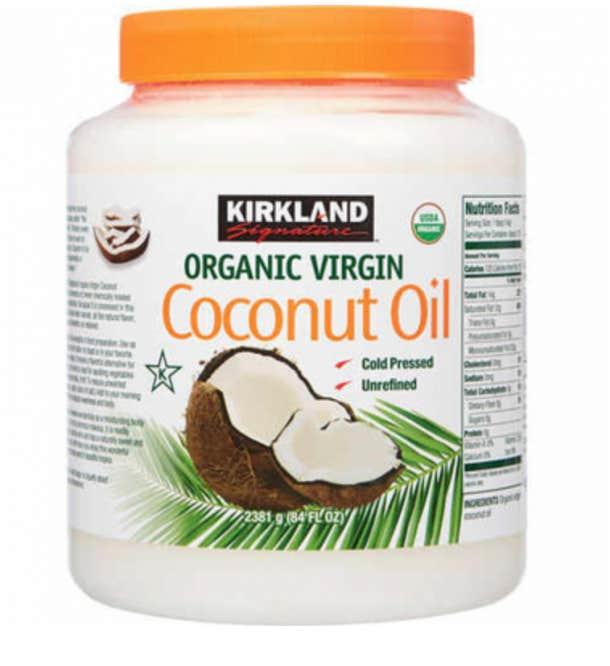 best coconut oil for skin face body hair kirkland