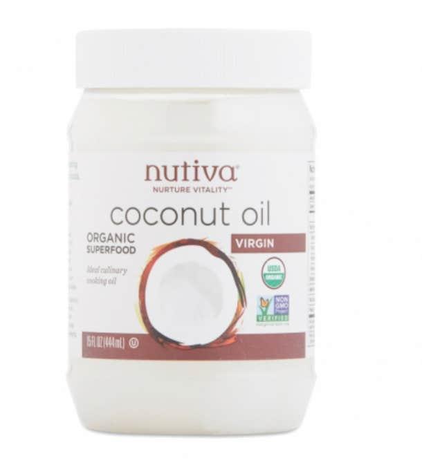 best coconut oil for skin nutiva organic virgin coconut oil face body hair