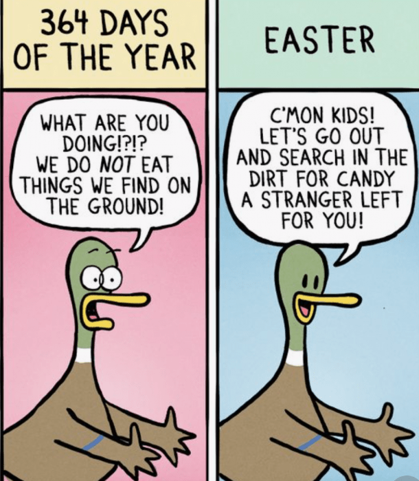 14 Best Easter Memes To Share On Sunday April 12 2020 Yourtango