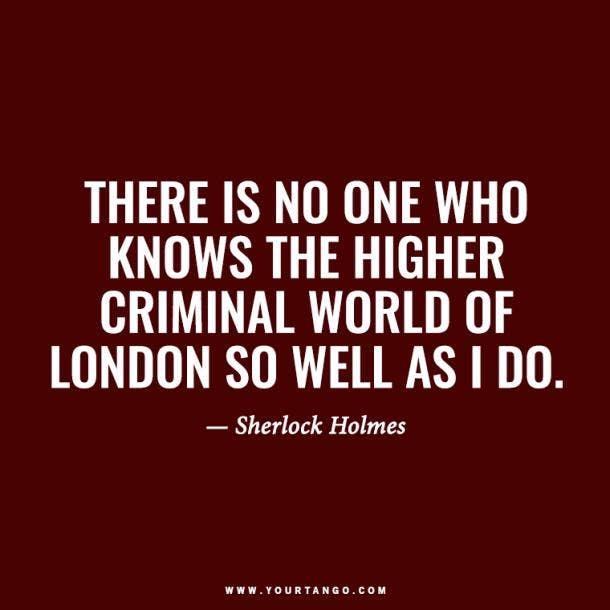 Sherlock Holmes Quotes, Arthur Conan Doyle Quotes