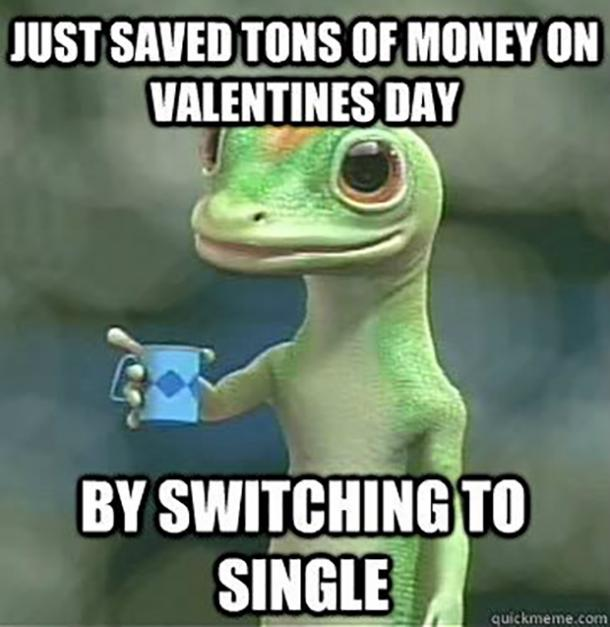 Funny memes about being single quotes