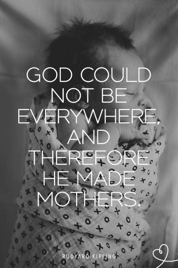 Rudyard Kipling single mom quotes