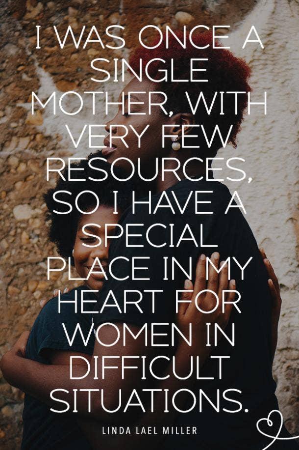 Linda Lael Miller single mom quotes
