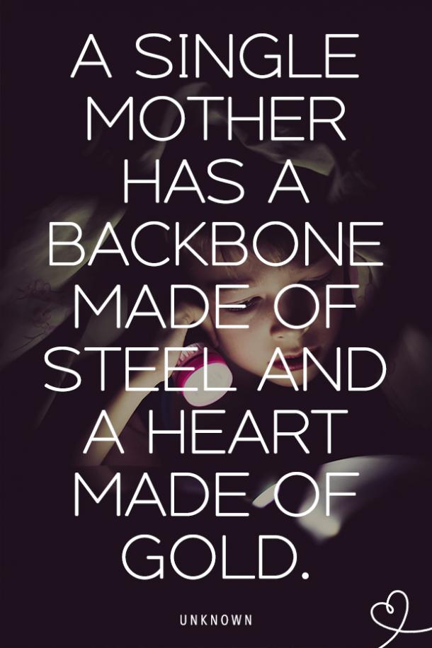 Strong single mother quotes