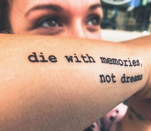 50 Best Quote Tattoos To Inspire You To Live Your Best Life ...