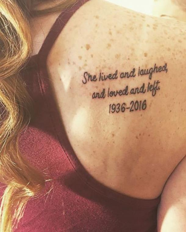 b069f9b92 50 Best Quote Tattoos To Inspire You To Live Your Best Life, Every ...