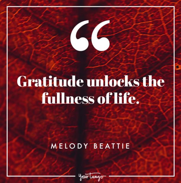 Melody Beattie Thanksgiving quote