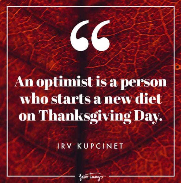 Irv Kupcinet Thanksgiving quote