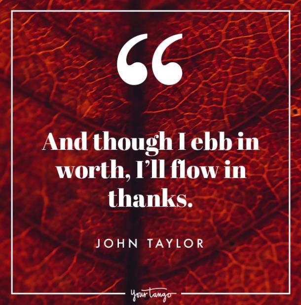 John Taylor Thanksgiving quote